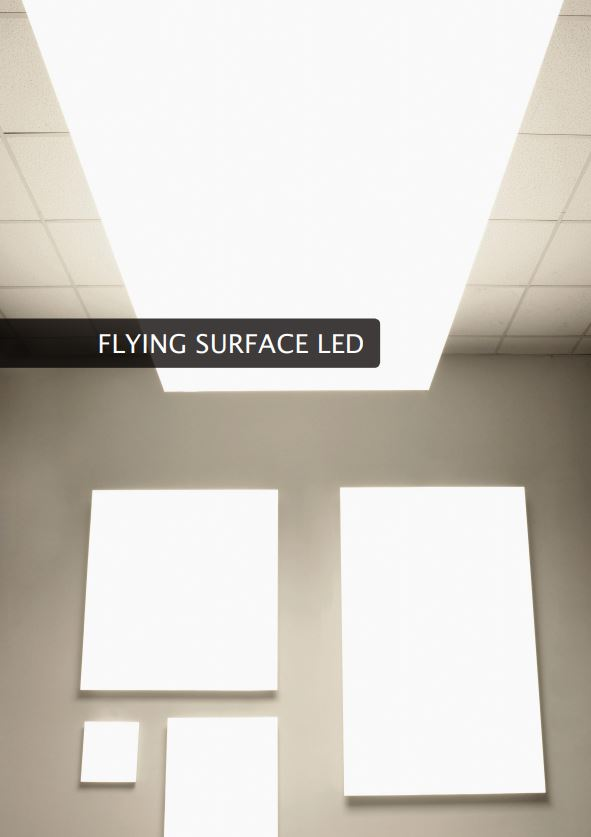 Kat fedlap Luxiona Flying Surface led